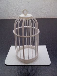 How-to: bird cage in fondant (pictorial)