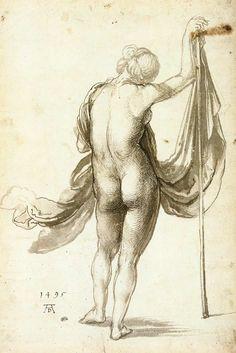 Durer, Female from Behind