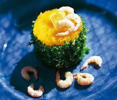Käringöbakelse  - Utsökta och lyxiga med en fräsch smak av räkor, dill, majonnäs och som garnering löjrom, persilja och citron. Enkla och lättillverkade bakelser