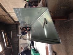 Alucobond being fabricated at CDS