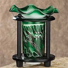 Other Decorative Collectibles Modern Looking Aromatherapy Decor Pewter Oil Warmer