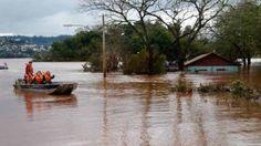 Volta a passar de 20 mil o número de pessoas afetadas pelas chuvas no RS - Foto: Divulgação/Defesa Civil