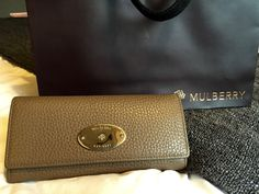 VictoriaMichelle: MY NEW MULBERRY WALLET.