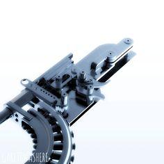 151029 A sort of Maxim/Vickers-esque machine gun bolt