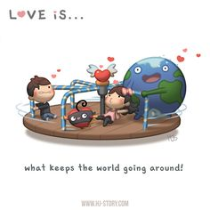 HJ-Story :: Love is... what keeps the world spinning! | Tapastic - image 1