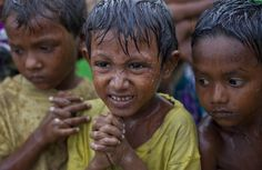 More than 100 Rohingya refugees were aboard the boat that capsized in a storm.