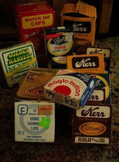Instant Collection Stock up Vintage Canning by TheKeepingRoom55, $36.50