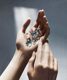 Swarovski Elements Campaign for 2012 featuring Yiqing Yin.
