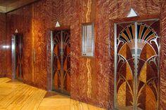 NYC - Midtown: Chrysler Building - Elevator Hall by wallyg, via Flickr
