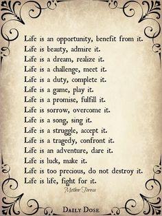 Beautiful quote :)