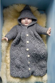 Ravelry: Baby Sleeping Bag pattern by Britta Wilfert