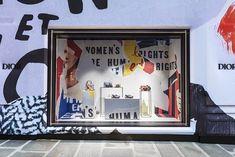 mylifestylenews: Dior Wraps The Facade of Avenue Montaigne Boutique