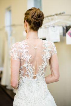 Dreamy beading: http://www.stylemepretty.com/california-weddings/2014/09/02/behind-the-scenes-bridal-fashion-with-carolina-herrera/   Photography: Betsi Ewing Photography - http://betsiewing.com/