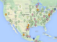 Map of all IHG PointBreaks March 2015, April 2015 and May 2015 - http://www.pointswithacrew.com/map-of-all-ihg-pointbreaks-march-2015-april-2015-and-may-2015/