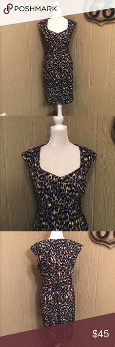Connected leopard dress Great for any occasion. Connected Dresses