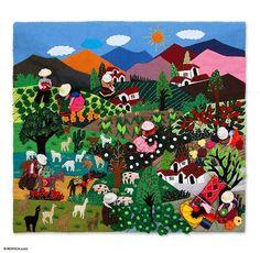Peruvian folk art... so colorful