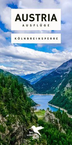 Kölnbreinsperre & Malta Hochalmstraße: mit ihren 200 Metern Höhe ist die Kölnbreinsperre in den Hohen Tauern die höchste Staumauer Österreichs und damit ein perfektes Ausflugsziel in Kärnten. Doch das ist nicht der einzige Grund, warum sich ein Ausflug dorthin lohnt. Mehr Informationen findet ihr auf unserem Blog. #kölnbreinsperre #austria #kärnten # ausflügeinösterreich #ausflügeinkärnten Malta, Austria, Mountains, Nature, Travel, Outdoor, Europe Travel Tips, Round Trip, Road Trip Destinations