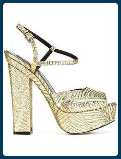 Dsquared2 Damen S17c5063767043 Gold Lackleder Sandalen - Sandalen für frauen (*Partner-Link)