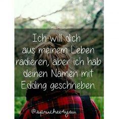 Ich will...