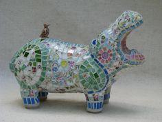 Happy hippo.  :)