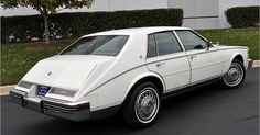 Cadillac automobile - 1985 Cadillac Seville