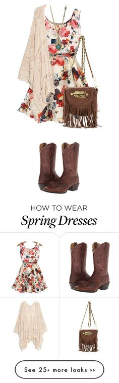 """""""Dress and Boots"""" by colierollers on Polyvore"""