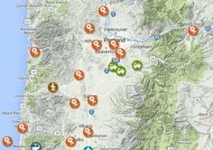 OSU Launches Online Map of Oregon's Gardens, Forests and Farms