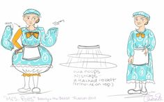 "I am designing the costumes for ""Beauty & the Beast, Jr."" this summer.  This was a very hard costume for me to design & decide how to construct.  I still am keeping my fingers cro..."