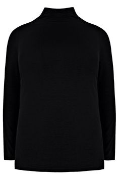 Yoursclothing Plus Size Womens Turtle Neck Long Sleeved Jersey Top Size 16 Black *** Continue to the product at the image link. (This is an affiliate link) Size 16, Plus Size, Summer Tops, Casual Tops, Active Wear For Women, Fashion Brands, Turtle Neck, Long Sleeve, How To Wear
