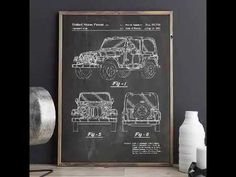 Four Wheel Drive Patent Print, Truck Wall Art, Guy Gift, Car Enthusiast, Adventurer Wall Decor, Wall Art, Patent Prints, Printed Linen, Metal Gear, Printing Services, Printable Art, 4x4, Car Posters
