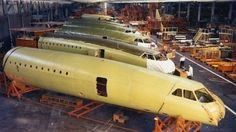 Concorde Fuselage Manufacturing at Weybridge