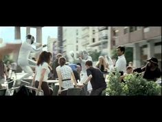 "Funny commercial featuring Zinedine Yazid Zidane, nicknamed ""Zizou"", a former French footballer. Epee Fencing, Fencing Sport, Smosh, Funny Commercials, Great Ads, Zinedine Zidane, Sports Humor, Martial Arts, Sports"