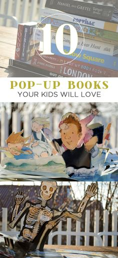 {10 Pop-Up Books Your Kids will Love} *Great for interacting with your child during reading