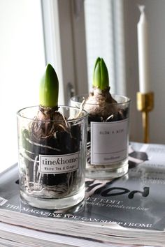 something to do with all those empty candle holders I can't bear to throw away!