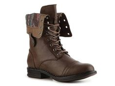 boots boots boots...i need some combat-looking boots (Madden Girl Zorrba Boot Ankle Boots & Booties Boots Women's Shoes - DSW)
