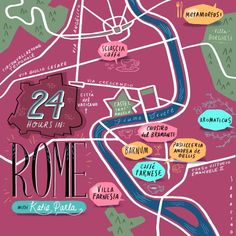24 Hours in Rome with Design*Sponge and Katie Parla #rome #italy #travel
