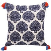 Found it at Temple & Webster - Bermuda Navy Fan Cushion