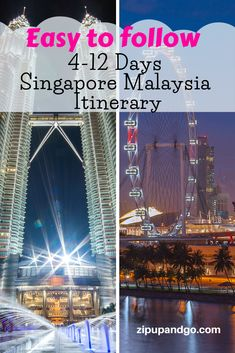 Planning to visit both Singapore and Malaysia in one go? We prepared a comprehensive Singapore Malaysia Itinerary packed with great places for you. Read more on our easy to follow Singapore Malaysia Itinerary! #singaporetravel #malaysiatravel #destinations #singaporemalaysiaitinerary #travelitinerary #asiatravel #travelguide #exploreasia #easytofollowguide Visit Singapore, Singapore Malaysia, Singapore Travel, Malaysia Itinerary, Malaysia Travel Guide, Singapore Attractions, Port Dickson, Cameron Highlands, Travel Information