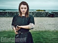 'Game of Thrones' Exclusive EW Portraits: Queens of the Throne Age | Maisie Williams as Arya Stark | EW.com