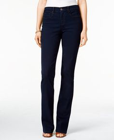Style & Co. Tummy-Control Bootcut Jeans, Only at Macy's