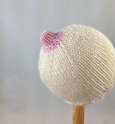 Luxurious bamboo and silk baby nursing hat Newborn by SimplyTatas, $25.00