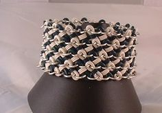 Chainmaille with Rubber and Anodized Aluminum Rings (extremely img heavy) - JEWELRY AND TRINKETS
