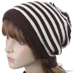 HQ Oversize Reverse Style Knit Beanie Hat Cap