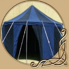 Medieval Tent Round