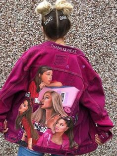 Ariana Grande Perfume, Ariana Grande Fans, Ariana Grande Outfits, Ariana Grande Pictures, Customised Clothes, Ariana Merch, Ariana Video, Doja Cat, Woman Crush