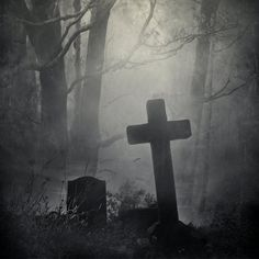 tapho-phile: Grave Stock by wyldraven Dark Fantasy, Fantasy Art, Creepy, Scary, Old Cemeteries, Graveyards, Gothic Aesthetic, Arte Obscura, Cemetery Art