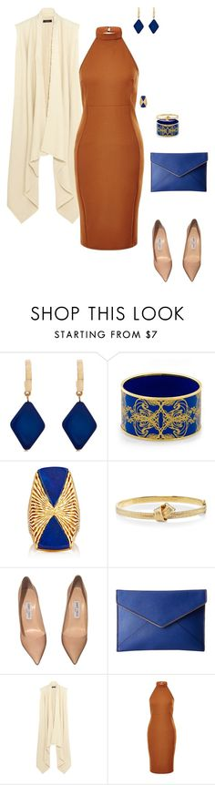 """""""Business Lunch"""" by ccoss on Polyvore featuring Erica Lyons, Halcyon Days, Carelle, Jimmy Choo, Rebecca Minkoff, Isabel Marant, New Look and halterdresses"""