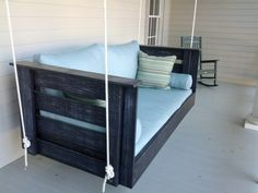 Hey, I found this really awesome Etsy listing at http://www.etsy.com/listing/127197486/vintage-black-swing-bed-other-colors