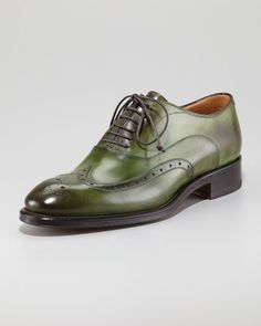 Brogue-Trim Wingtip by Stefano Branchini