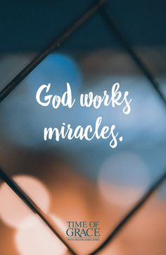 Our God is able. His power has no limits. #Miracles